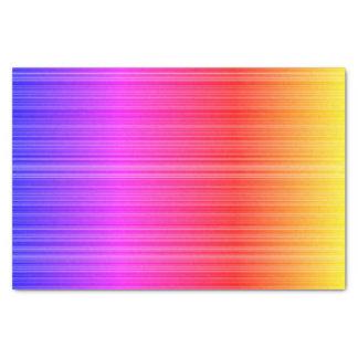 Arco-íris amarelo cor-de-rosa roxo do Natal do Papel De Seda