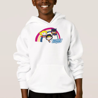 Arco-íris da liga de justiça de Chibi Camiseta