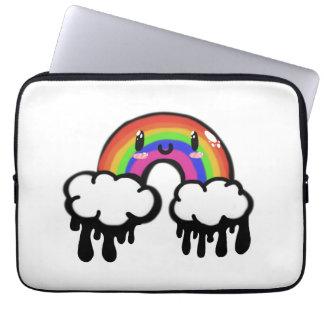 Arco-íris de Kawaii Bolsas E Capas De Notebook