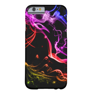 Arco-íris de Smokey para o iPhone Capa Barely There Para iPhone 6
