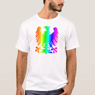 Arco-íris Eagle Camisetas