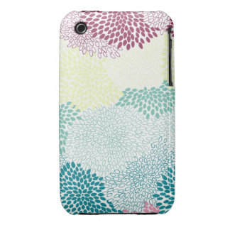 "Arco-íris estourado ""flor"" das cores capa para iPhone 3"