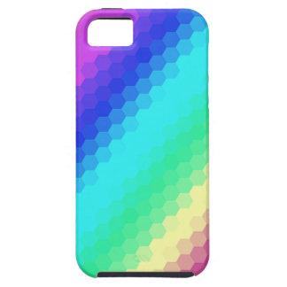 Arco-íris retro capa iPhone 5 Case-Mate