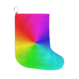 Arco-íris sujo meia de natal grande