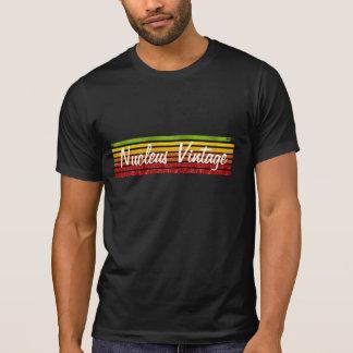 arco-íris withered, vintage do núcleo tshirts