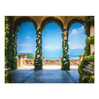 Arcos da arte elegante colorida da foto de Italia