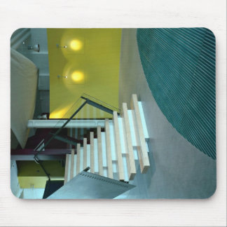 Área e escadaria de recepção para o design de negó mousepads