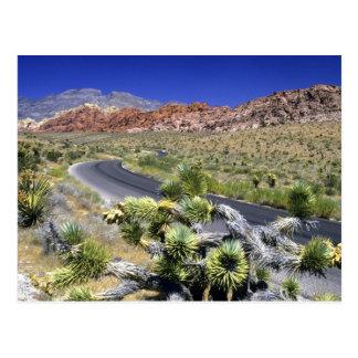 Área nacional da conservação da garganta vermelha cartão postal