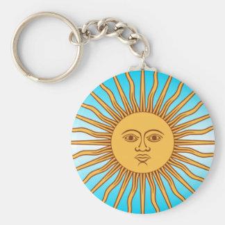 Argentina - bandeira Sun - chaveiro