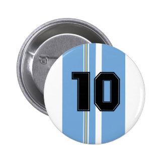 Argentina Bóton Redondo 5.08cm