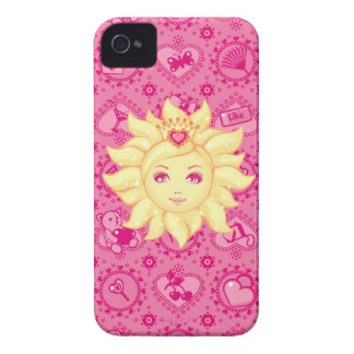 Argumento feminino cor-de-rosa para o iPhone 4 Capa Para iPhone 4 Case-Mate