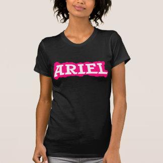 Ariel - nuvem cor-de-rosa tshirts