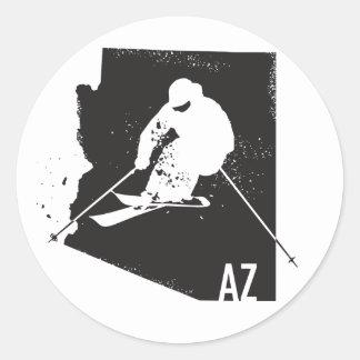 Arizona do esqui adesivo