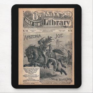 Arizona Joe - biblioteca da moeda de dez centavos Mouse Pad