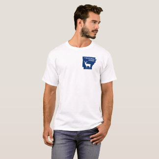 Arkansas o tshirt do estado natural