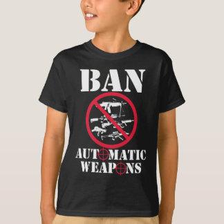 Armas automáticas da proibição camisetas