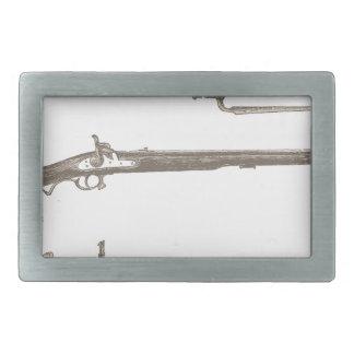 Armas velhas da antiguidade do vintage dos rifles