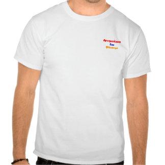 Arménios para Obama Tshirts