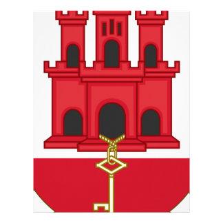 Arms_of_Gibraltar_ (variação) Papel Timbrado