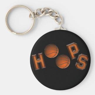 Aros de basquetebol chaveiro