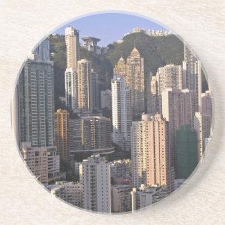 Arquitectura da cidade de Hong Kong, China Porta-copos
