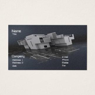 Arquiteto Cartão De Visitas