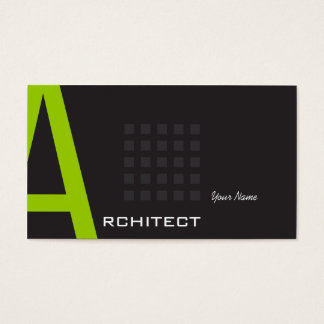 Cartões de visita para arquitetos na Zazzle