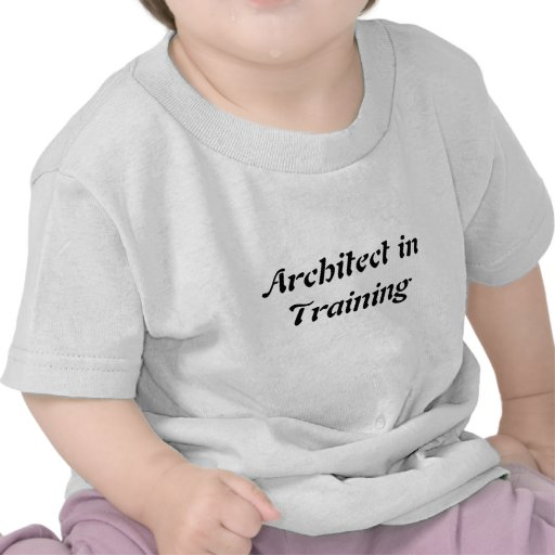 Arquiteto no camiseta das crianças das crianças do