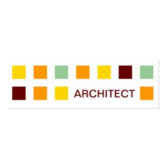 Cartão de visita arquiteto. Modelos de cartões de visita para arquitetos.