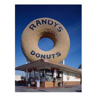 Arquitetura de Califórnia das rosquinhas de Randy Cartão Postal