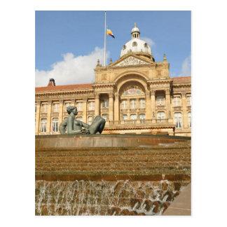 Arquitetura em Birmingham, Inglaterra Cartão Postal