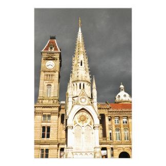Arquitetura em Birmingham, Inglaterra Papelaria