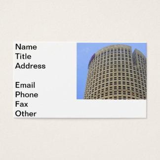 Arquitetura redonda cartão de visitas