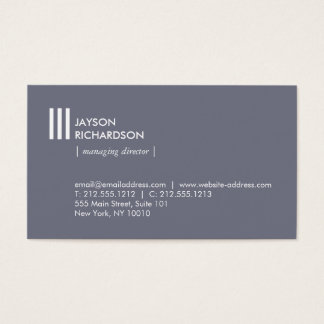 Arquitetura simples moderna, construção, design 1 cartão de visitas