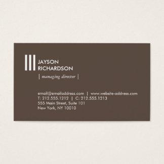 Arquitetura simples moderna, construção, design 2 cartão de visitas
