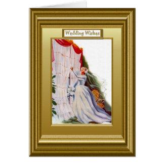 Arranjar drapeja cartão comemorativo