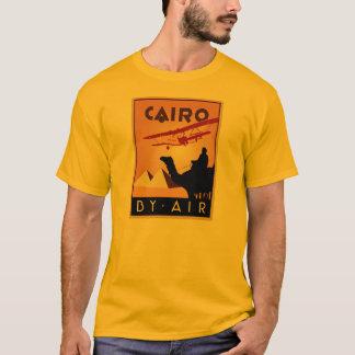 Art deco do viagem de Egipto do vintage T-shirt