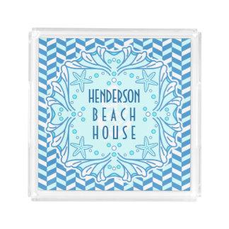 Art deco Shell da casa de praia e costume de