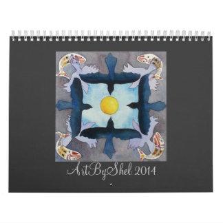 ArtByShel 2014 Calendário