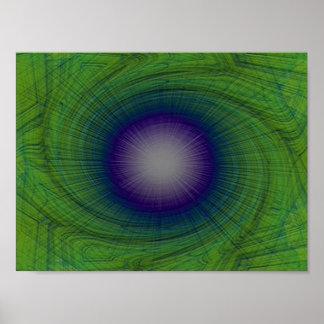 Arte abstracta, a arte do conceito poster