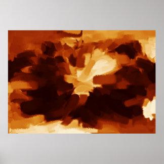 Arte abstracta abstrata 11 da pintura | poster