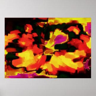 Arte abstracta abstrata 12 da pintura | poster