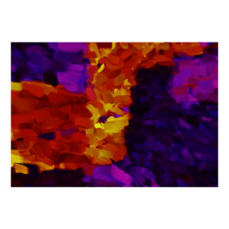 Arte abstracta abstrata 19 da pintura | poster