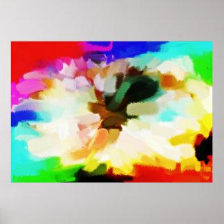 Arte abstracta abstrata 20 da pintura | poster