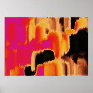 Arte abstracta abstrata 21 da pintura | poster