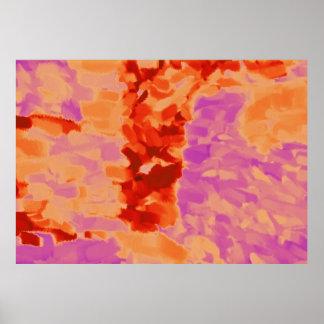 Arte abstracta abstrata 22 da pintura | poster
