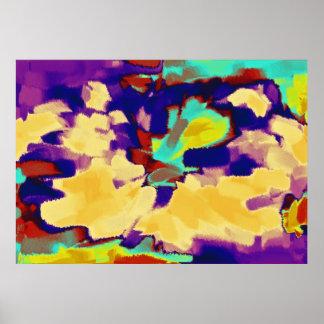 Arte abstracta abstrata 8 da pintura | poster