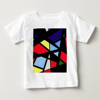 Arte abstracta colorida tshirt