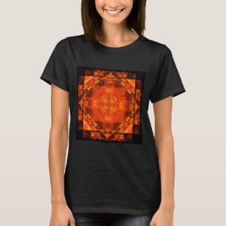 Arte abstracta da bênção t-shirts