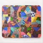 Arte abstracta da edredão de retalhos da edredão l mousepads